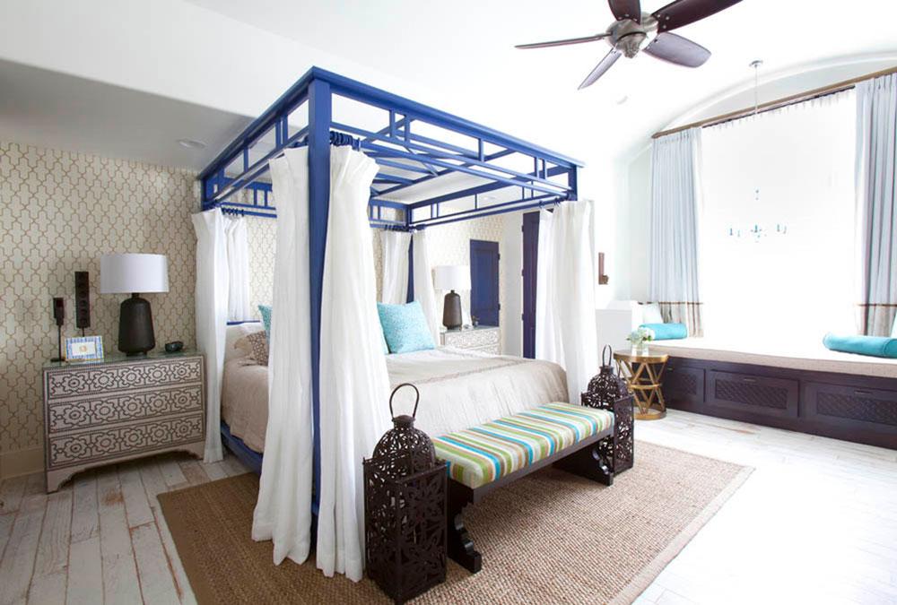 Gardiner runt sängen mellan funktion och design4 Gardiner runt sängen - mellan funktion och design