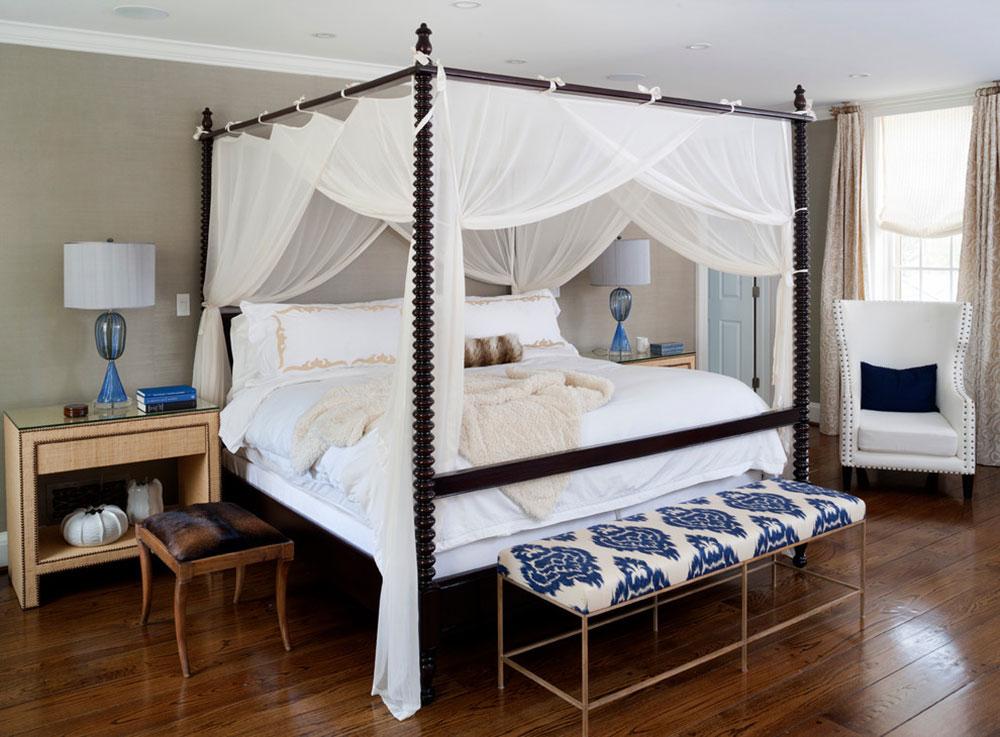 Gardiner runt sängen mellan funktion och design3 Gardiner runt sängen - mellan funktion och design