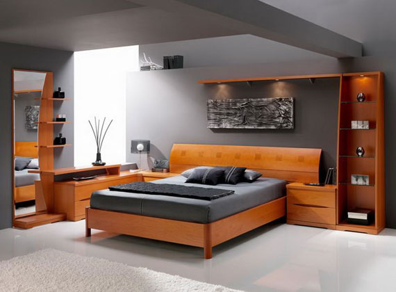 b33 En samling moderna sovrumsmöbler - 40 bilder