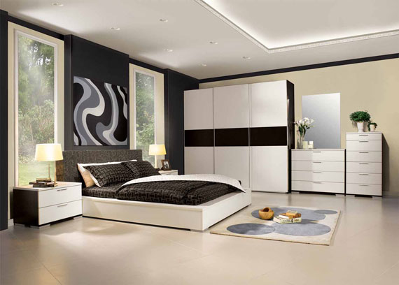 b18 En samling moderna sovrumsmöbler - 40 bilder