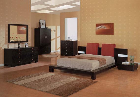 b11 En samling moderna sovrumsmöbler - 40 bilder