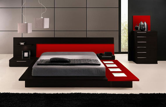 b36 En samling moderna sovrumsmöbler - 40 bilder