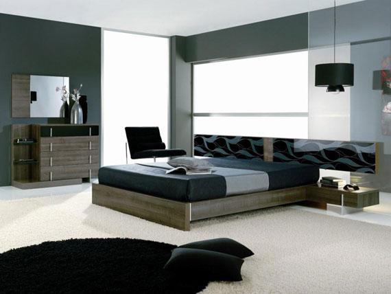b34 En samling moderna sovrumsmöbler - 40 bilder