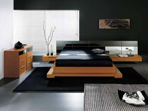 b7 En samling moderna sovrumsmöbler - 40 bilder