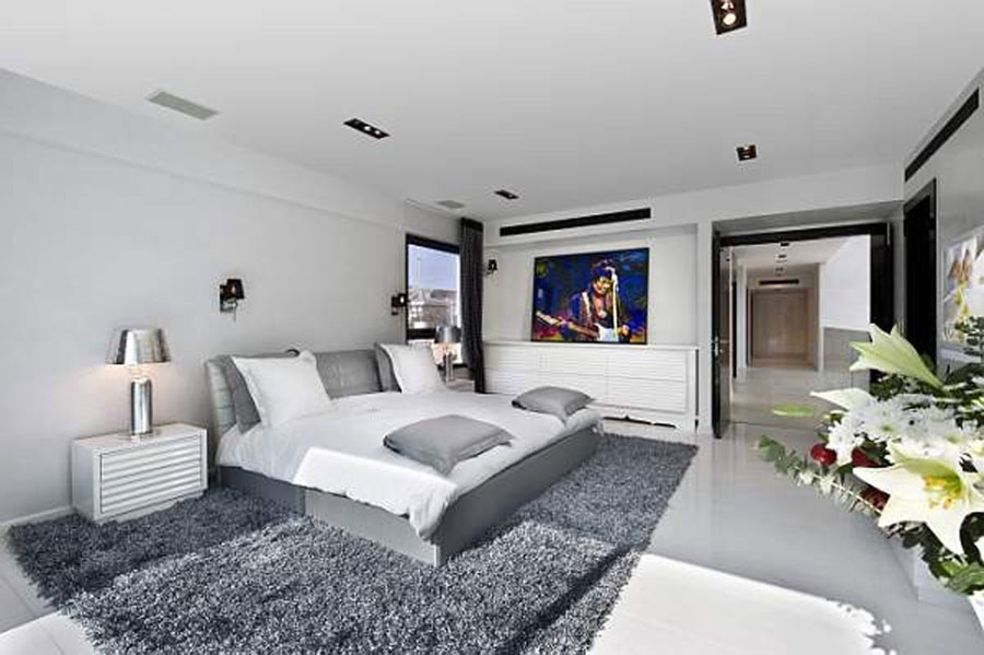 Grey Bedroom Interior Design-4 Gray Bedroom Interior Design som ser ganska bra ut