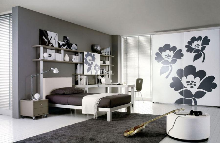 Grey Bedroom Interior Design-14 Gray Bedroom Interior Design som ser ganska bra ut