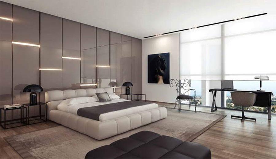 Grey Bedroom Interior Design-13 Gray Bedroom Interior Design som ser ganska bra ut