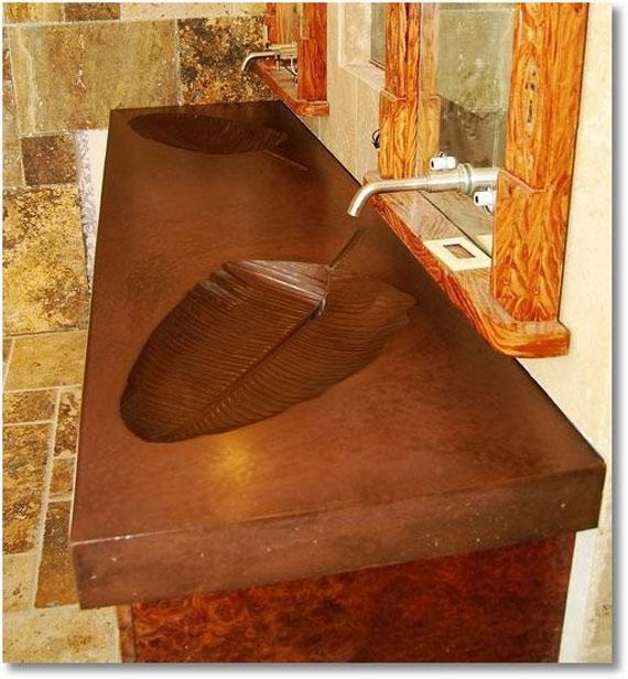 p26 Vackra bilder av Sink Designs - 50 exempel