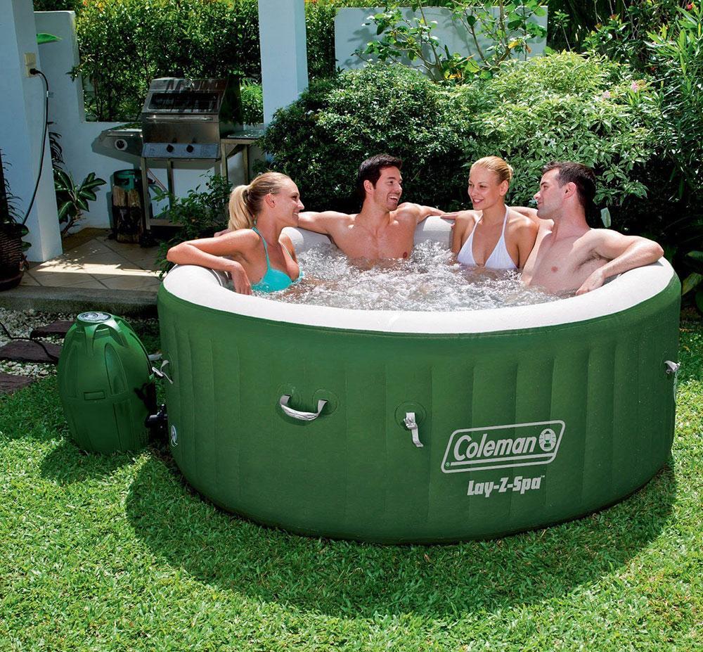 coleman-lay-z-spa har de 5 mest populära uppblåsbara badtunnorna för 2018