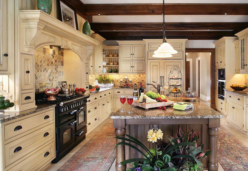 Traditionellt-kök-inredning-design-idéer-6 traditionellt-kök-inredning-design-idéer