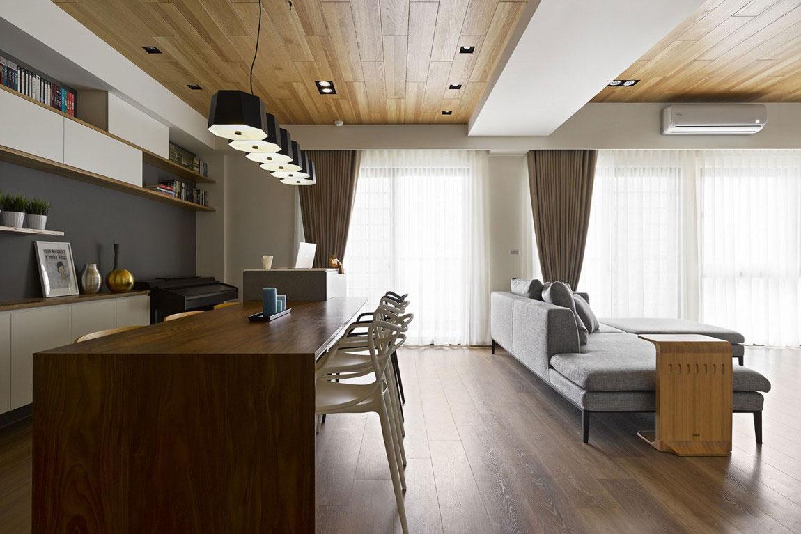 Trähus-interiör-av-HOYA-Design-5 Trähus-interiör av HOYA Design