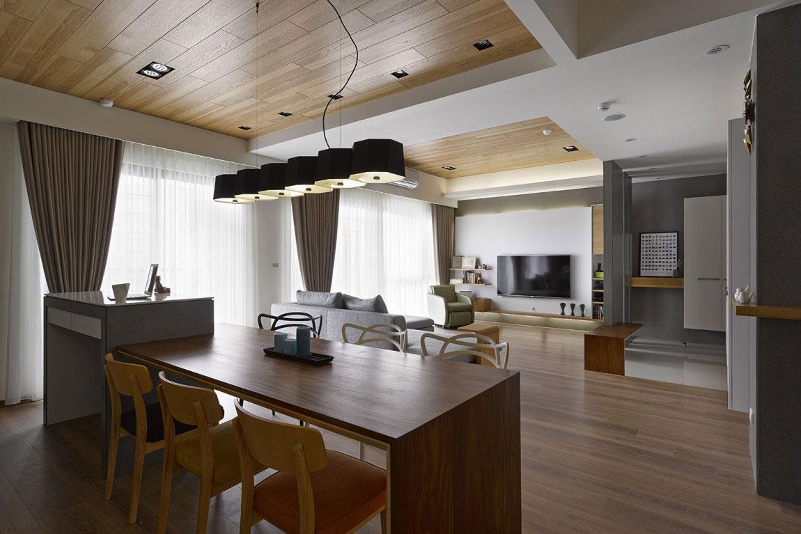 Trähus-interiör-av-HOYA-Design-9 Trähus-interiör av HOYA Design