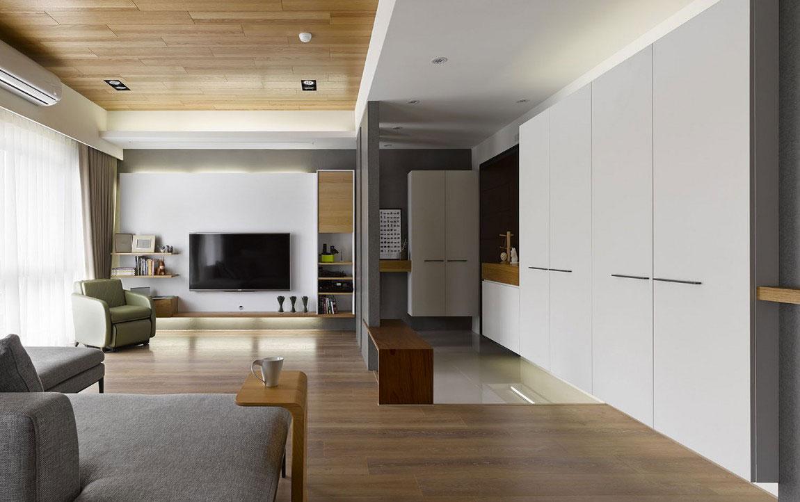 Trähus-interiör-av-HOYA-Design-2 Trähus-interiör av HOYA Design