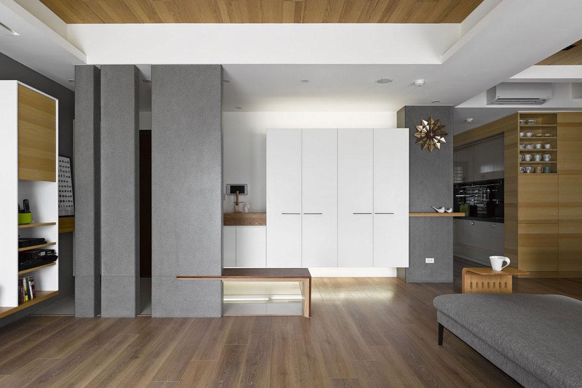 Trähus-interiör-av-HOYA-Design-3 Trähus-interiör av HOYA Design