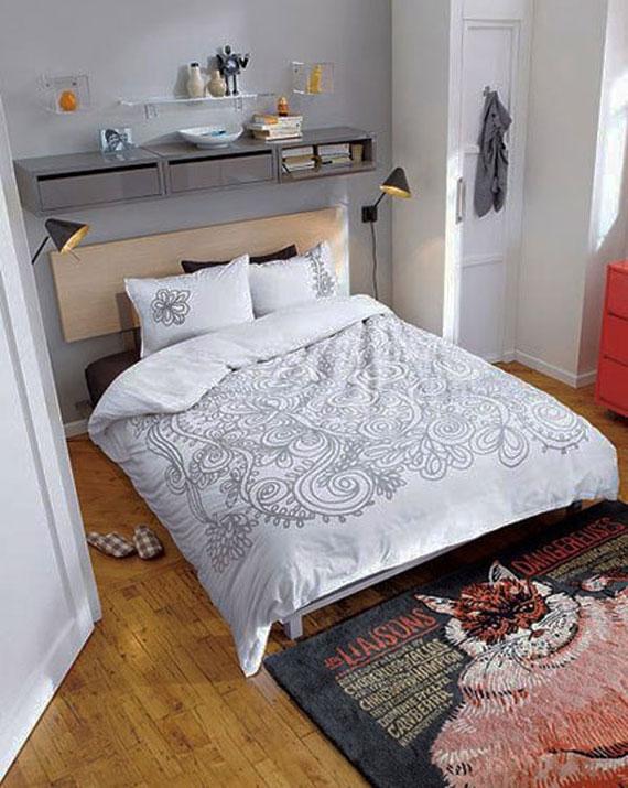 p14 Dekorera små sovrum med stil - 34 exempel