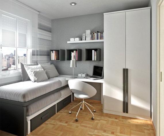 p10 Dekorera små sovrum med stil - 34 exempel