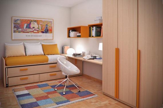 p8 Dekorera små sovrum med stil - 34 exempel