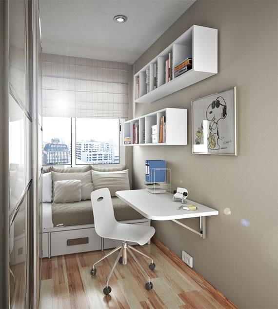 p12 Dekorera små sovrum med stil - 34 exempel