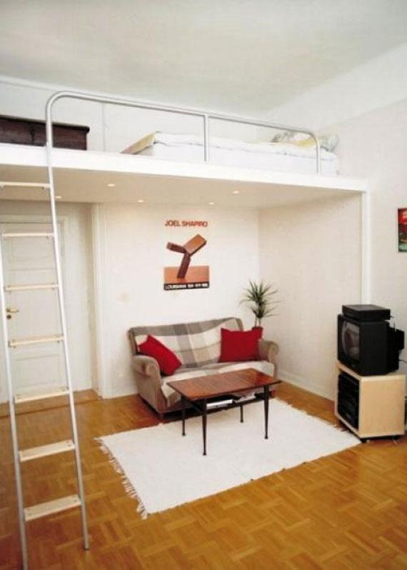 p30 Dekorera små sovrum med stil - 34 exempel