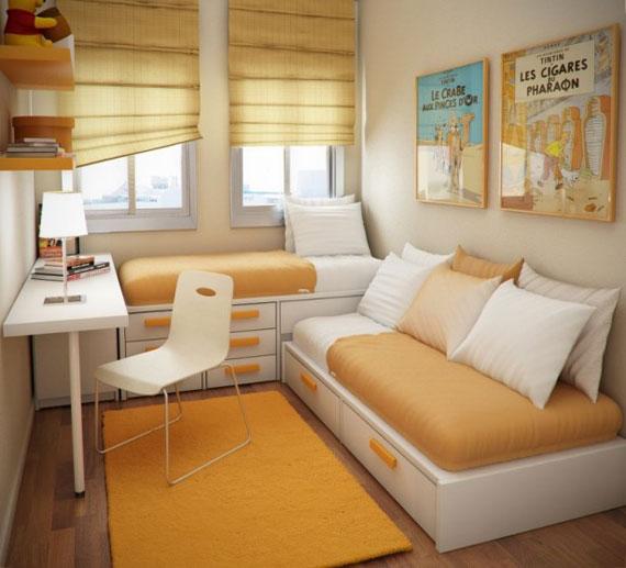 p11 Dekorera små sovrum med stil - 34 exempel