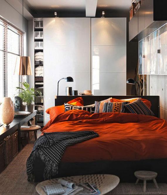 p17 Dekorera små sovrum med stil - 34 exempel