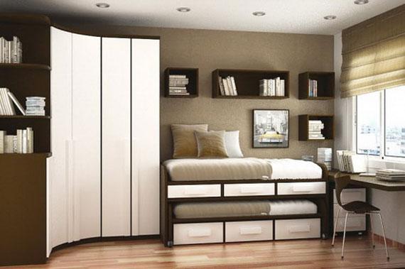 p13 Dekorera små sovrum med stil - 34 exempel