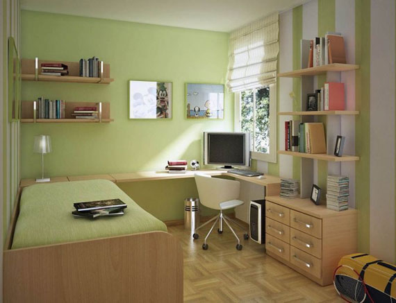 p25 Dekorera små sovrum med stil - 34 exempel