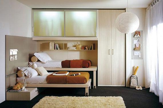 p28 Dekorera små sovrum med stil - 34 exempel