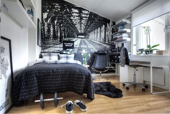 p23 Dekorera små sovrum med stil - 34 exempel