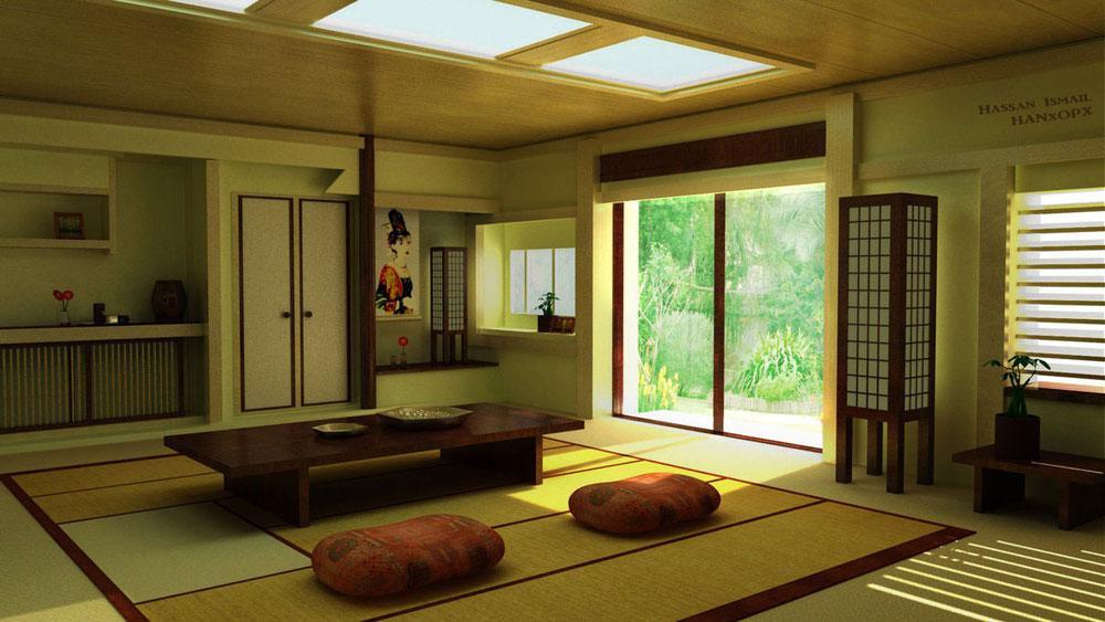 Japansk-inredning-design-konceptet-och-dekoration-idéer-6 Japansk inredning-design, konceptet och dekoration idéer