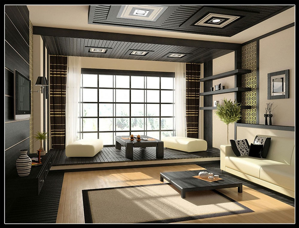 Japansk-inredning-design-konceptet-och-dekoration-idéer-2 Japansk inredning-design, konceptet och dekoration idéer