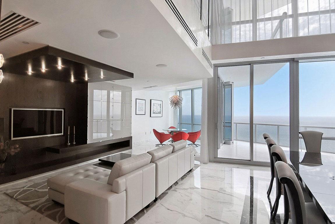 A-Contemporary-Design-Of-A-Penthouse-That-is-not-too-modern-or-cold-3 En modern design av en penthouse som inte är för modern eller kall