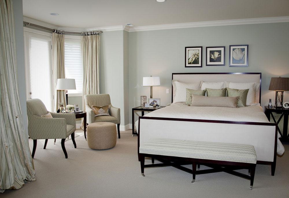 New-Castle-Master-Bedroom-by-Beverly-Bradshaw-Interiors- Gröna sovrumsidéer: design, dekoration och tillbehör
