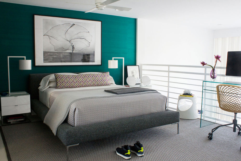 Master-bedroom -–- South-Beach-Apartment-Miami-Beach-by-Diego-Alejandro-Interior-Design Gröna sovrumsidéer: design, dekoration och tillbehör