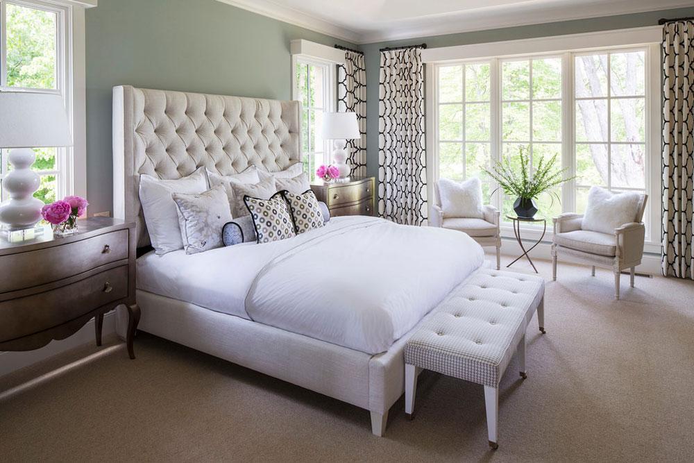 Locust-Hills-Drive-Residence-2-von-Martha-OHara-Interiors Idéer för gröna sovrum: design, dekoration och tillbehör