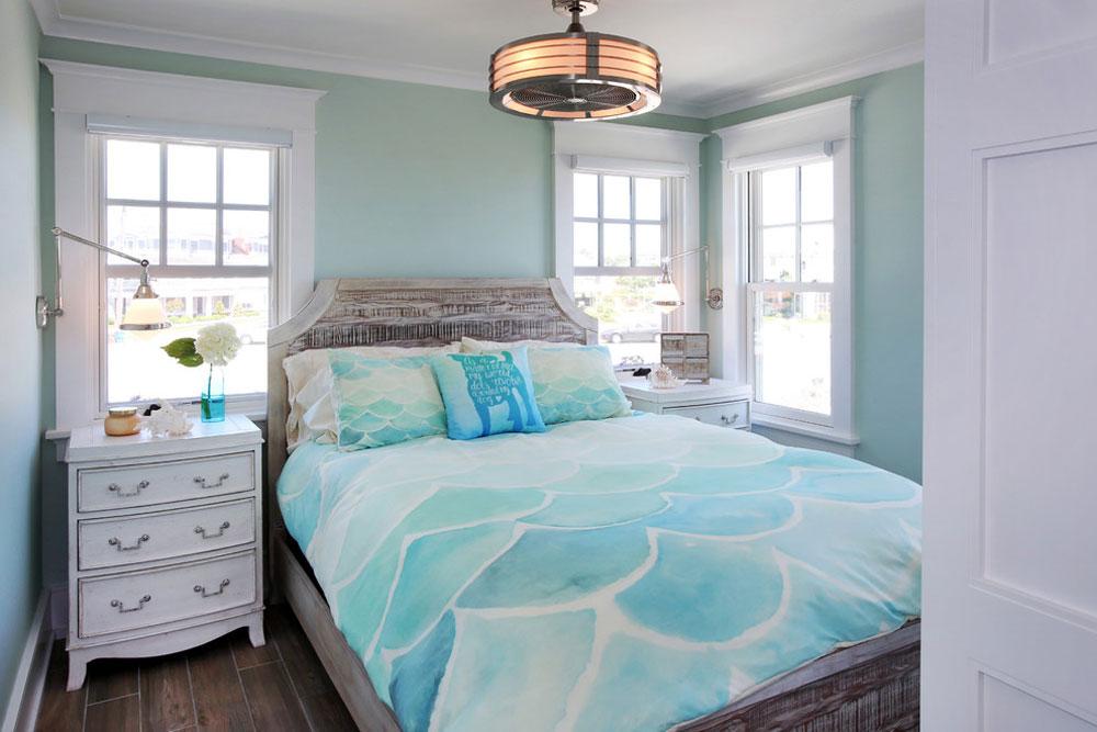 The-Cottages-by-Buck-Custom-Homes Idéer för gröna sovrum: design, dekoration och tillbehör