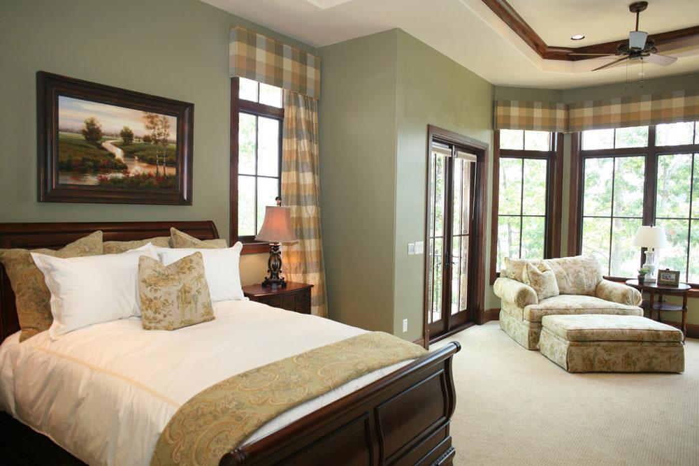 Master-Bedroom-by-Fowler-Interiors Green Bedroom Ideas: Design, dekoration och tillbehör