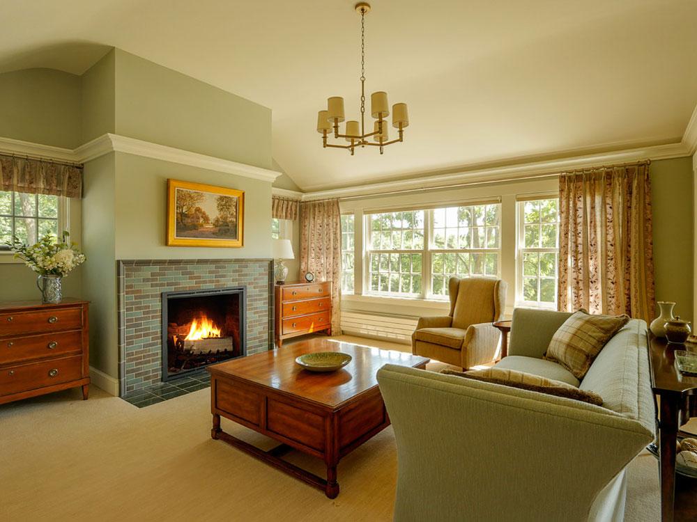 Farmhouse-Addition-by-HAYNES-GARTHWAITE-ARCHITEKTEN Idéer för gröna sovrum: design, dekoration och tillbehör