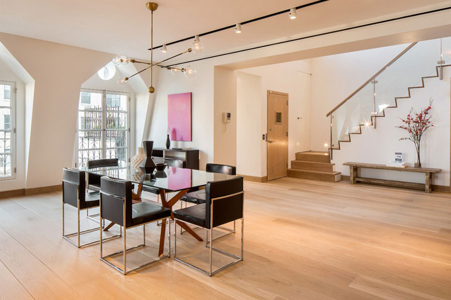 7 Magnificent Tribeca Penthouse designad av Turett Collaborative Architects