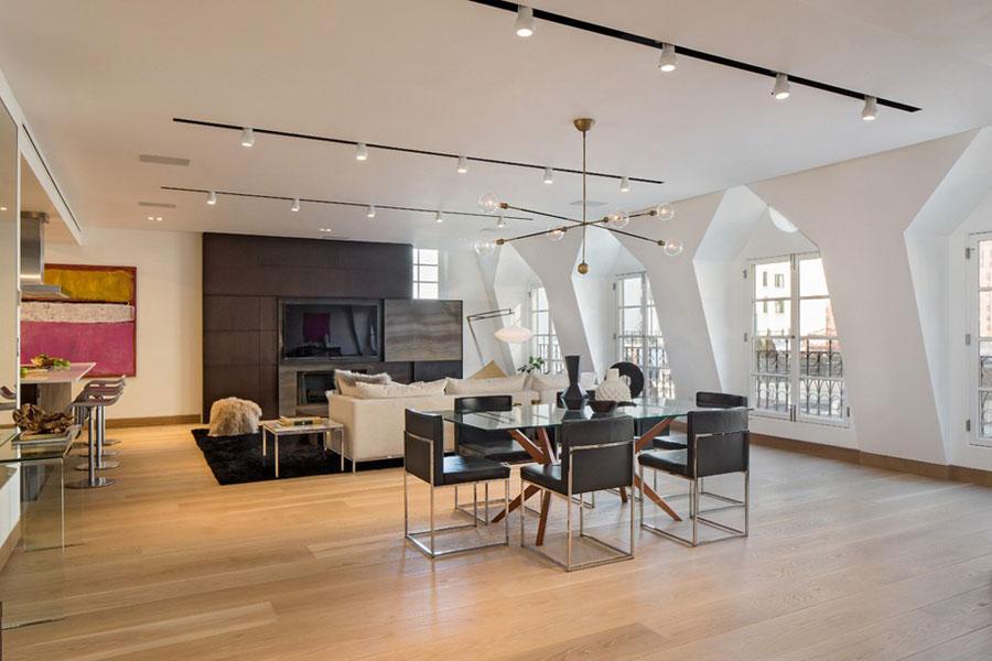 2 Magnificent Tribeca takvåning designad av Turett Collaborative Architects