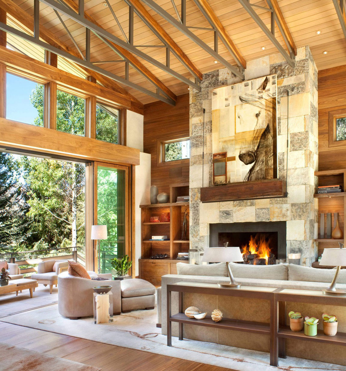 Magical Rustic Home Designed by Suman Architects-4 Magical Rustic Home Designed by Suman Architects