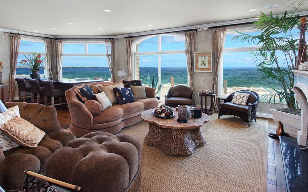 Underbara vardagsrum med havsutsikt 3 Underbara vardagsrum med havsutsikt