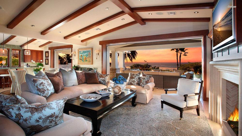 Underbara vardagsrum med havsutsikt 10 Underbara vardagsrum med havsutsikt