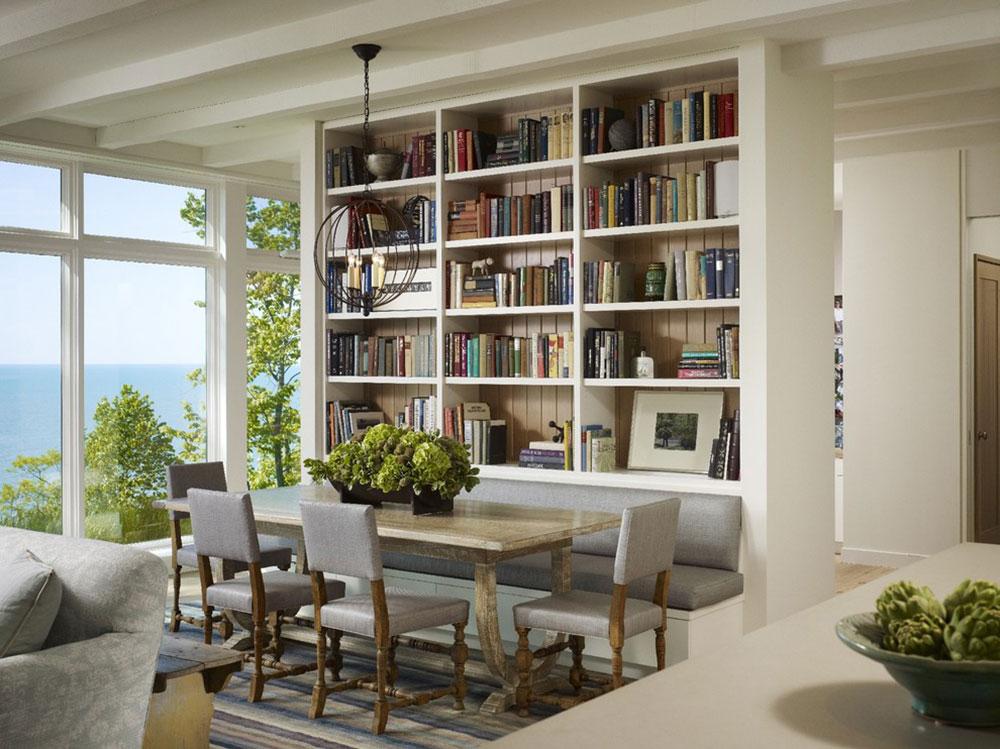 Imponerande-hem-bibliotek-design-idéer-för-2017 - 16 imponerande hembibliotek design-idéer för 2018