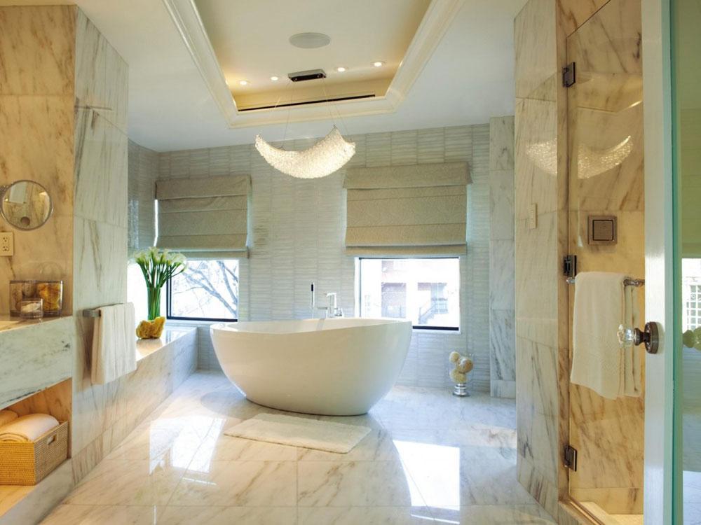 Skapa en vit badrumsinredning 3 Skapa en vit badrumsinredning