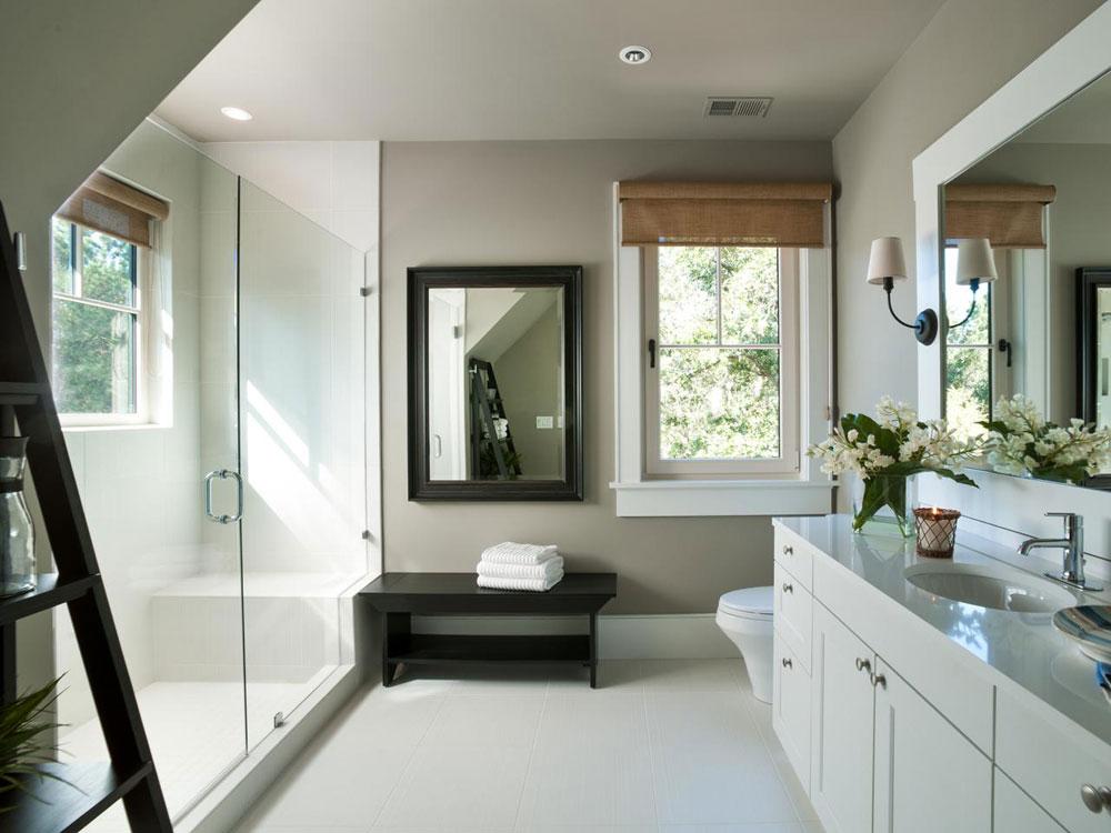 Skapa en vit badrumsinredning 4 Skapa en vit badrumsdesign