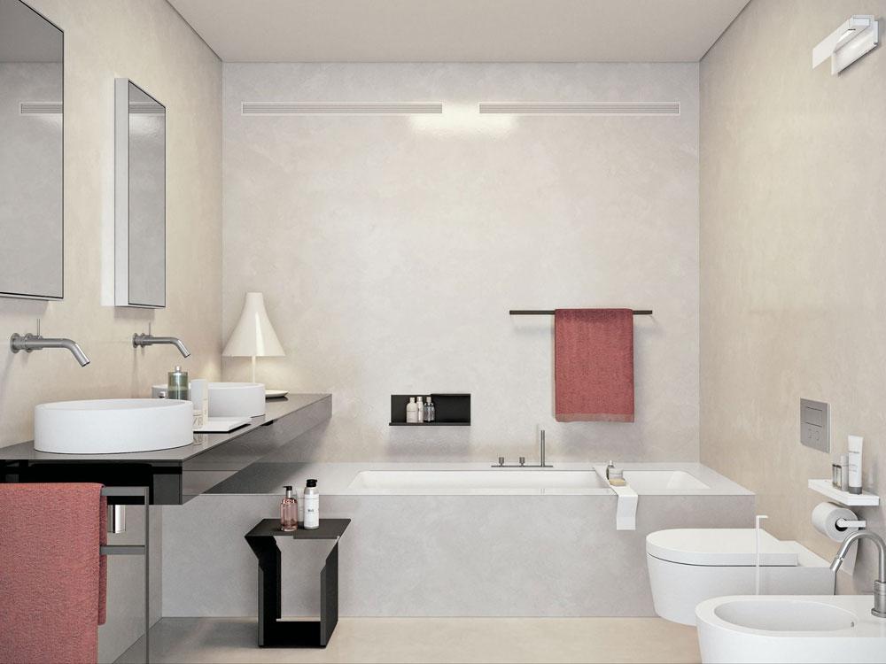 Skapa en vit badrumsinredning 6 Skapa en vit badrumsinredning