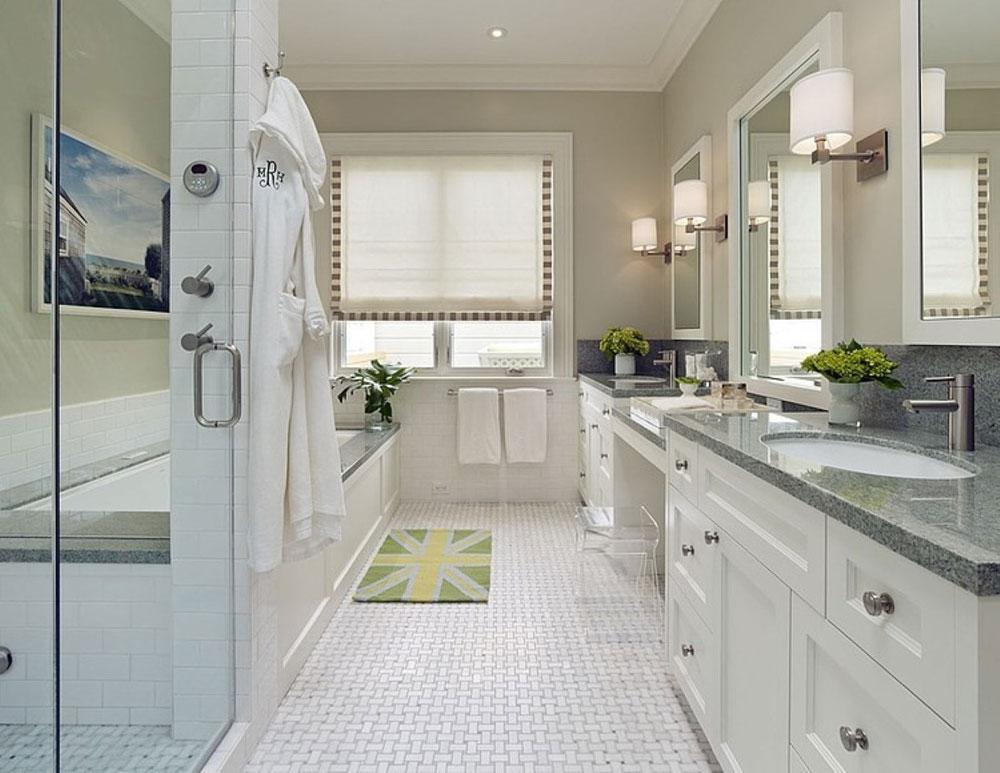 Skapa en vit badrumsinredning 10 Skapa en vit badrumsinredning
