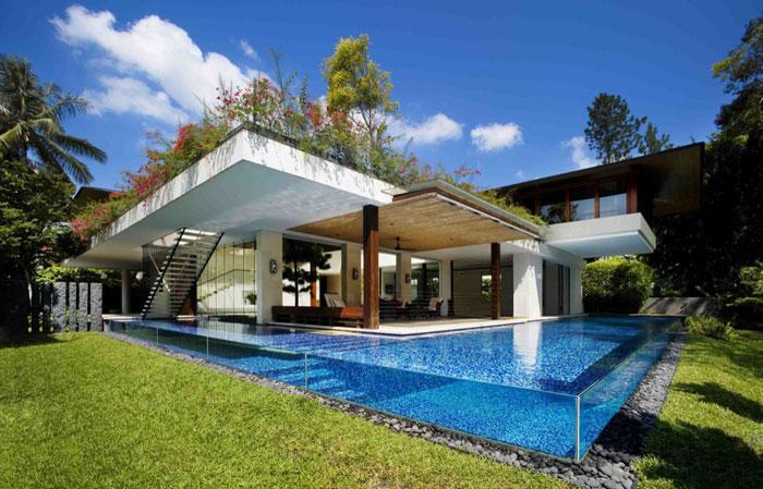 77381464567 Otroliga arkitektoniska mönster av moderna hem