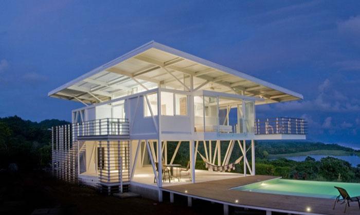 77381346405 Otroliga arkitektoniska mönster av moderna hem